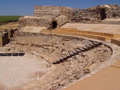 Roman theatre at Baleo Claudia, Andalucia