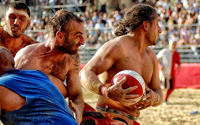 Calcio Storico, middle ages football firenze