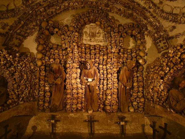 Crypt of the capuchins Rome