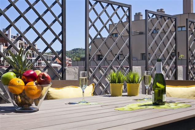 Apartaments with terrace in Barcelona