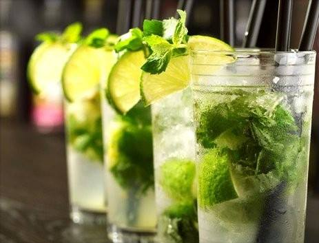 Mojitos  bar Baron Rampante in Seville