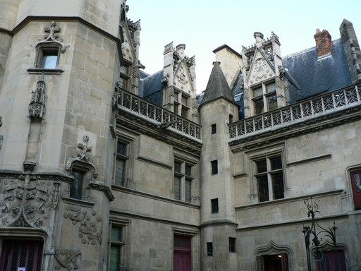 Museo de Cluny in the Latin Quarter of Paris