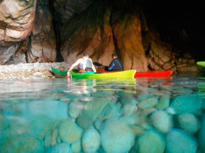 Canoeing in the Costa Brava