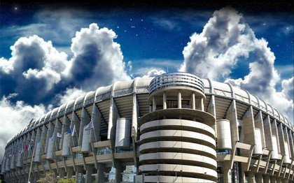 Estadio Santiago Bernabeu Madrid