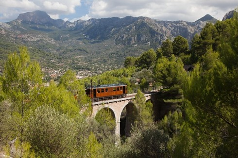 Tourist Train Soller, Mallorca