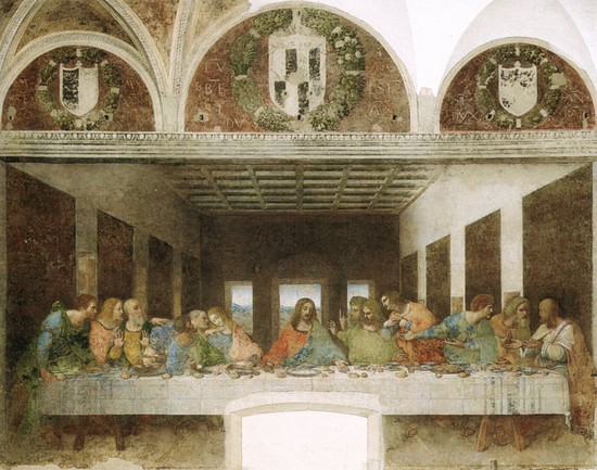 Cenacolo Vinciano,the last supper