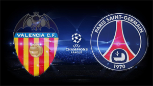 Champions League Valencia PSG Saint Germain