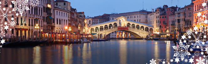 Venice during Christmas